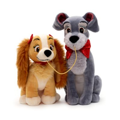 Lady And The Tramp Valentines Day Small Soft Toy Set