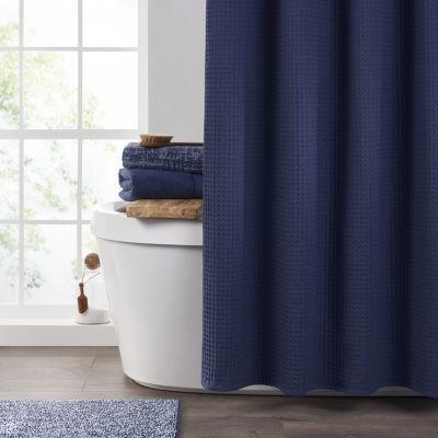 fieldcrest waffle shower curtain