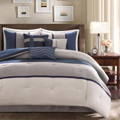 madison park warner 7 pc comforter set