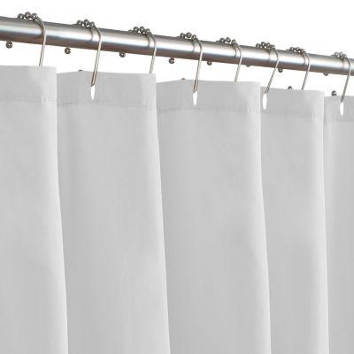 maytex 70 x 71 fabric shower curtain liner