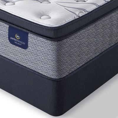 serta perfect sleeper elmcrest plush pillowtop mattress box spring