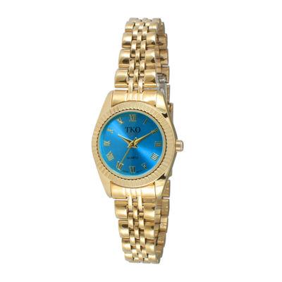 TKO ORLOGI Womens Light Blue Dial Petite Bracelet Watch ...