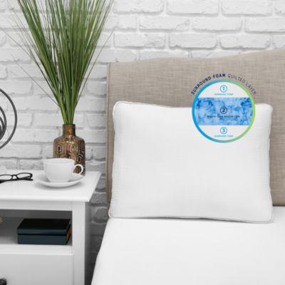 sensorpedic optiblend triple layer memory foam pillow