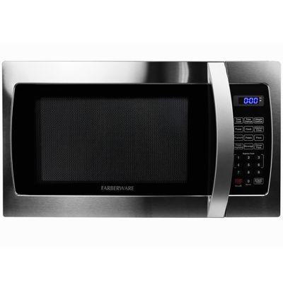 farberware professional fmo13ahtbke 1 3 cu ft 1000 watt microwave oven