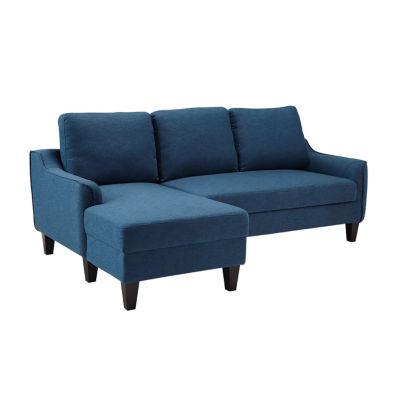 signature design by ashley jarreau sofa chaise sleeper