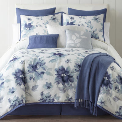 Home Expressions Claire 10 Pc Floral Comforter Set JCPenney