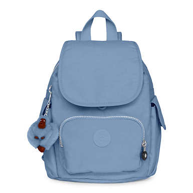Fashion Backpacks   Stylish and cool book bags  Kipling City Pack Extra Small Backpack   Dream Blue