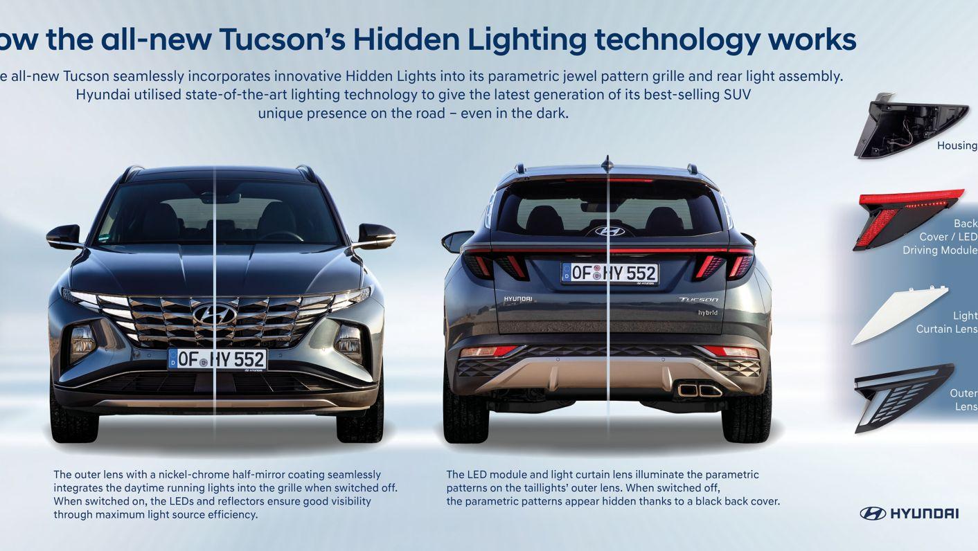 signature hidden lighting technology
