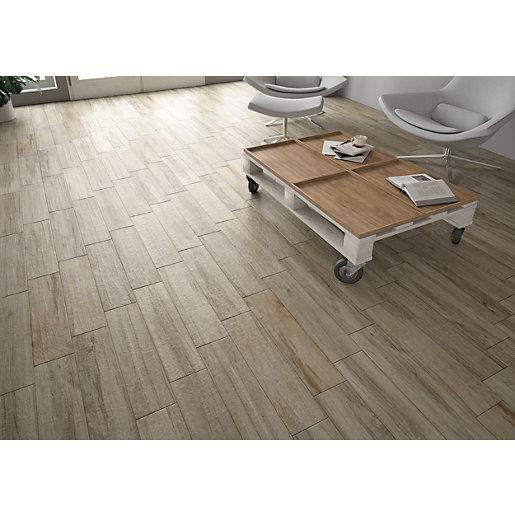 wickes mercia grey wood effect wall floor tile 150 x 600mm