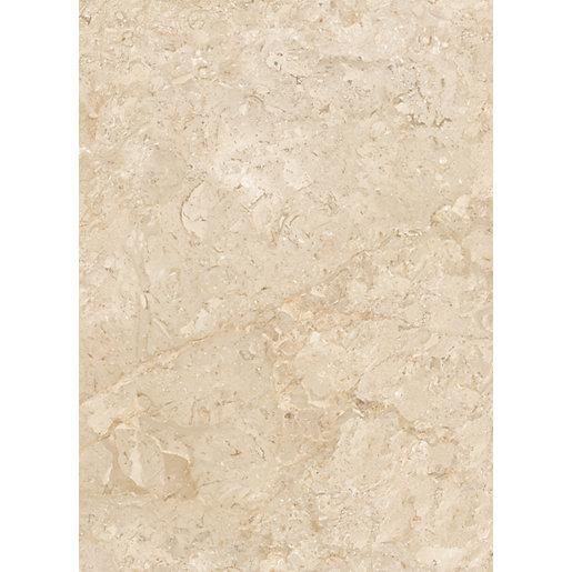 wickes amalfi mocca beige ceramic tile 360 x 275mm sample