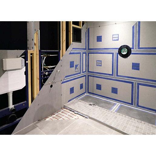 wickes 10mm single tile backer mini wall floor board 1200 x 600mm
