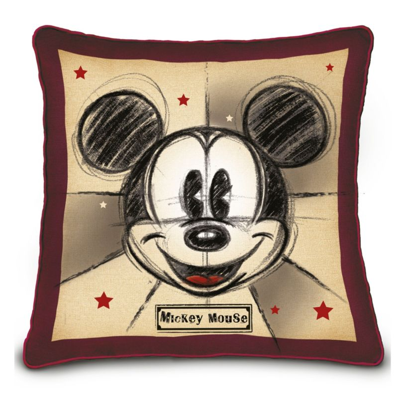 disney mickey and minnie mouse happy home pillow set