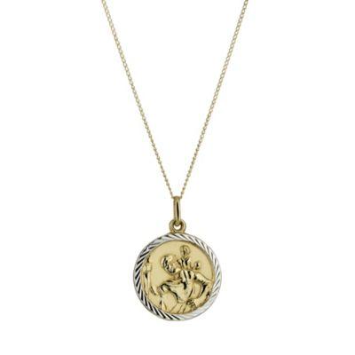 9ct Gold St Christopher Pendant HSamuel