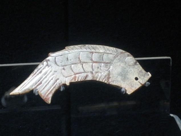 Нефритова фігура риби