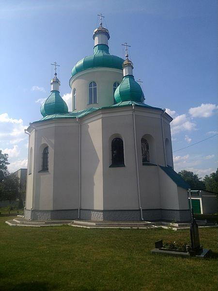 Олевськ. Свято-Миколаївська церква (1596)