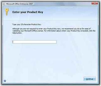 microsoft office 2007 tanpa product key