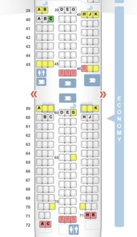 However On The Seat Map Cx It Shows That 40b Is With No One In Front Which Correct