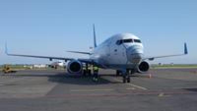 Лоукостер «Победа» «надел» медицинскую маску на один из своих самолетов