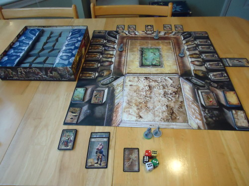 Two player set up