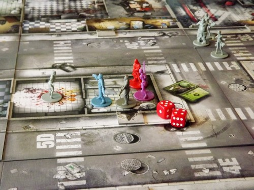Zombicide Heroes in the building