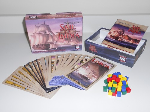 Sail To India - Components