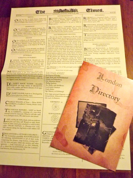 Sherlock Holmes Paper
