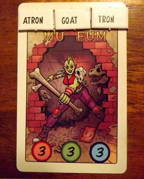 Villainy Villain Card