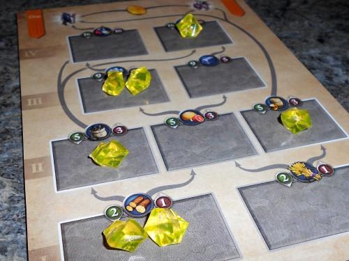 Artificium - Player Board