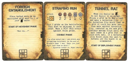 Secret Mission and Action Cards add some variety and surprise.