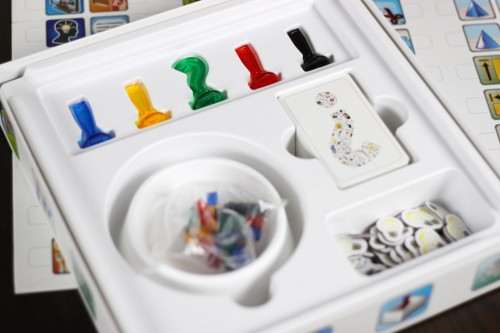 This is a great insert, and the dish is removable to use for storing cubes during play