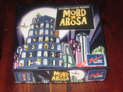 Mord im Arosa box