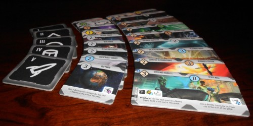 Roll For The Galaxy - Start Worlds