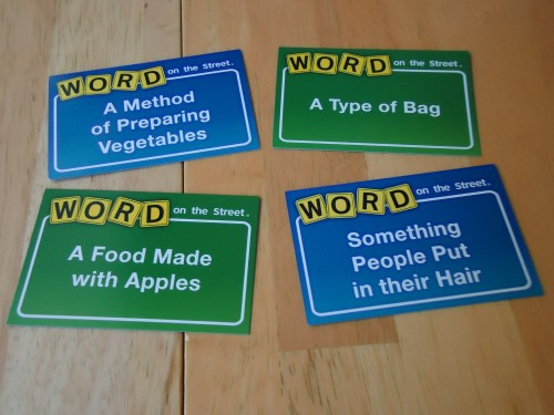 Word on the Street Cards