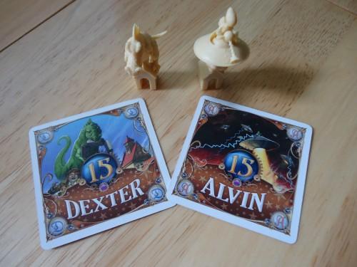 Alvin and Dexter - Bonus Cards
