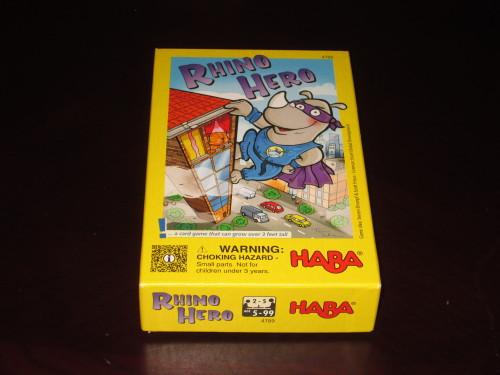 Rhino Hero box
