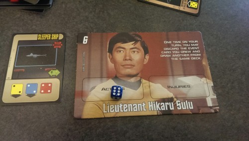 That's CAPTAIN Sulu to you. I mean, I wish.