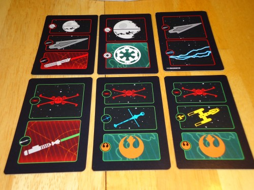 Star Wars Risk Cards