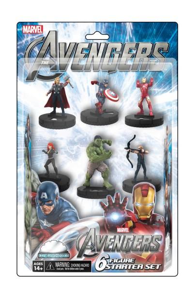 HeroClix: Avengers Starter Set.
