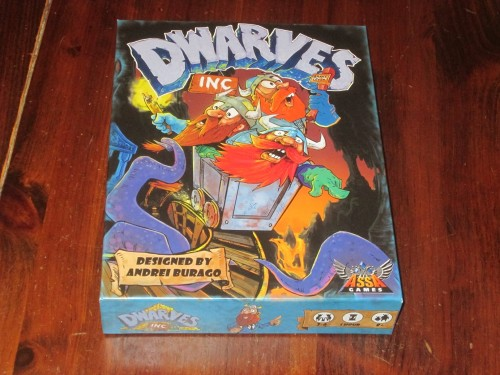 Dwarves Inc box