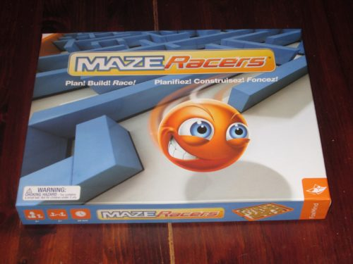 Maze Racers box