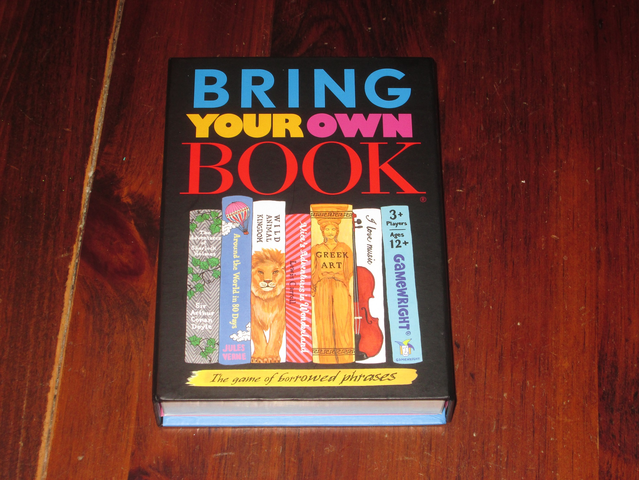 Review Bring Your Own Book