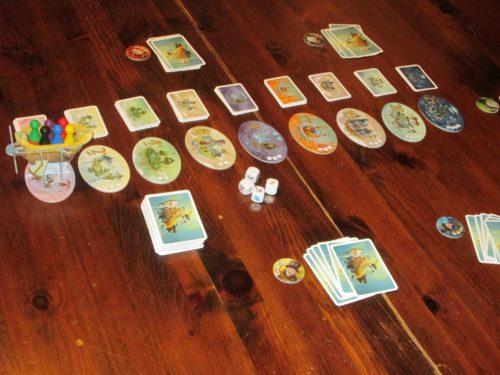 Celestia set up for six players.