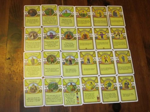 Agricola occupations