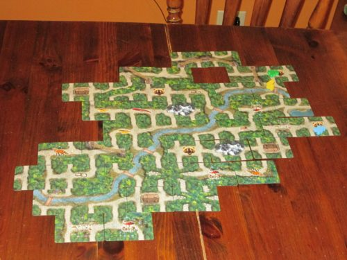 The final map for Bear Valley. If only we'd had this map at the start of this adventure...