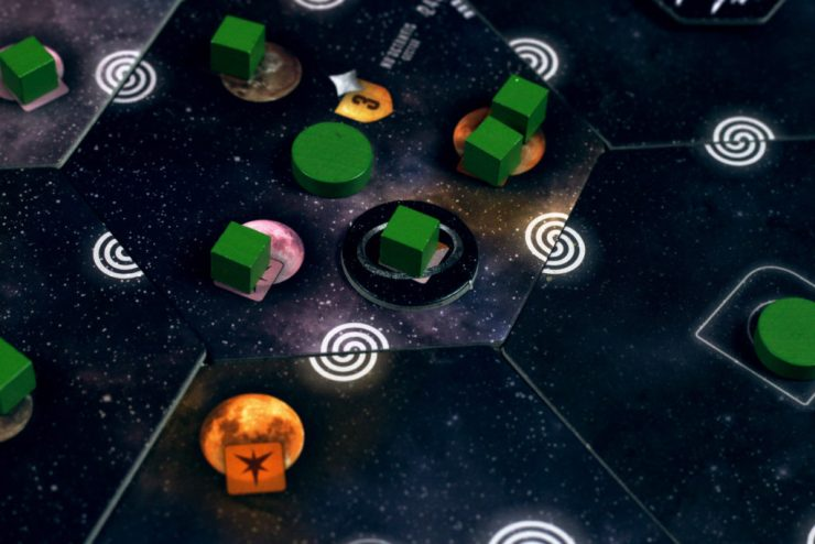 Orbitals help you get population on the board