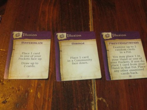 Here are the three spells for the illusion spell book, for example.