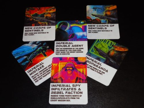 Galactic Rebellion Imperial Action Cards