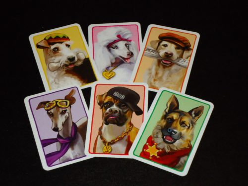 A Dog's Life - Back of Action Cards