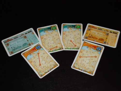 Ticket to Ride Germany - Routes