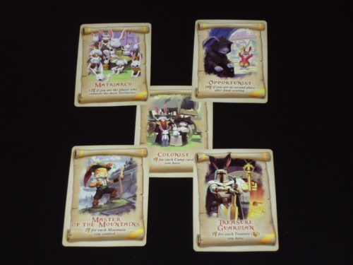 Bunny Kingdom: Mission Cards